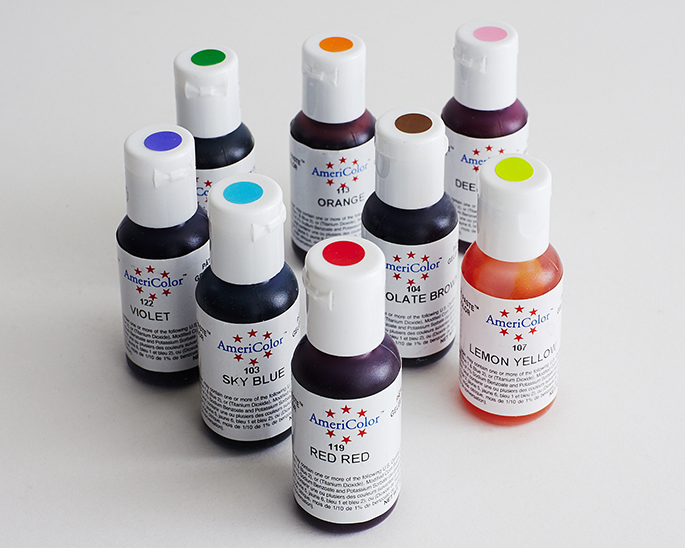 SHOP - Food Coloring Gel, Markers, and Powder | Cakegirls