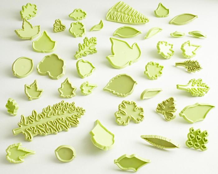 Jem Gum Paste Fondant Leaf Cutter Kit Set collection
