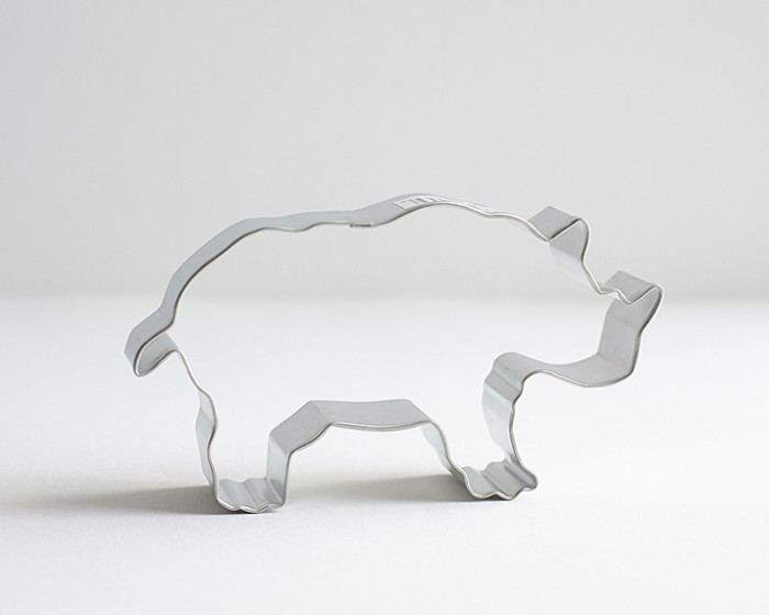 Zoo Safari Rhino Cookie Cutter