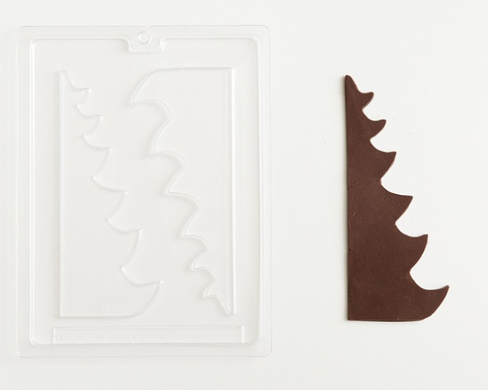 3-D Christmas Holiday Tree Chocolate Candy Mold
