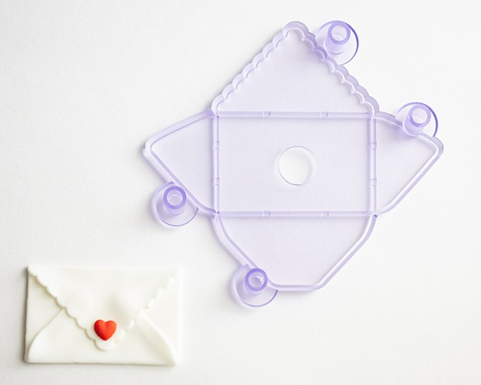 Fondant Gum paste Envelope Cutter