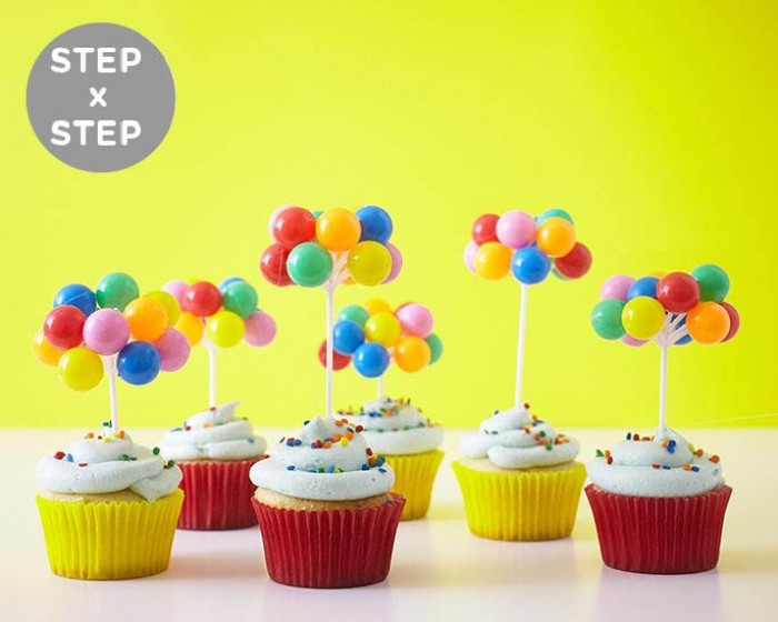 How To Make Easy Circus Carnival Cupcakes | Cakegirls Step x Step