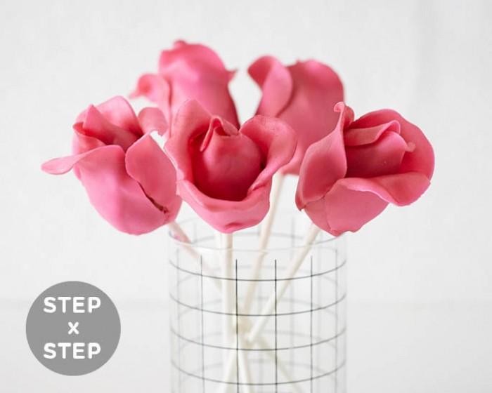 Cake Pop Rosebuds How-To Cakegirls