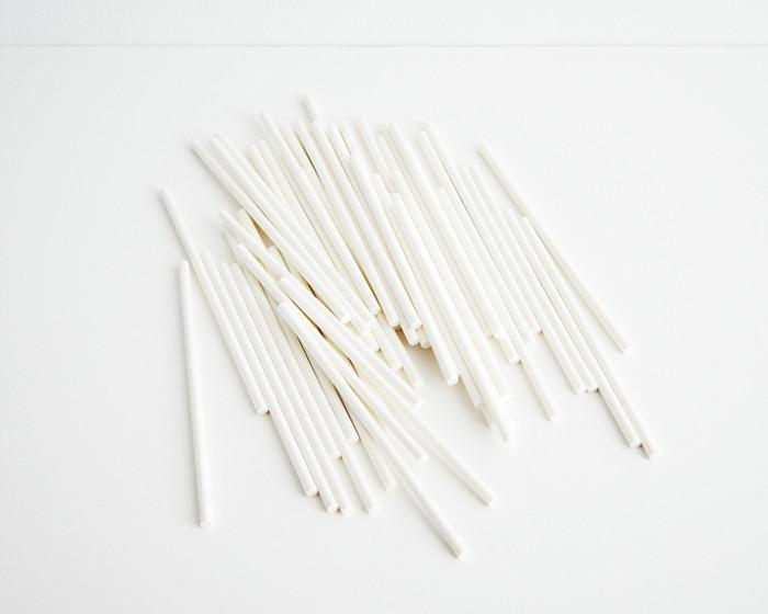 "White Sucker Sticks 6"" x 5/32""-Set of 50"