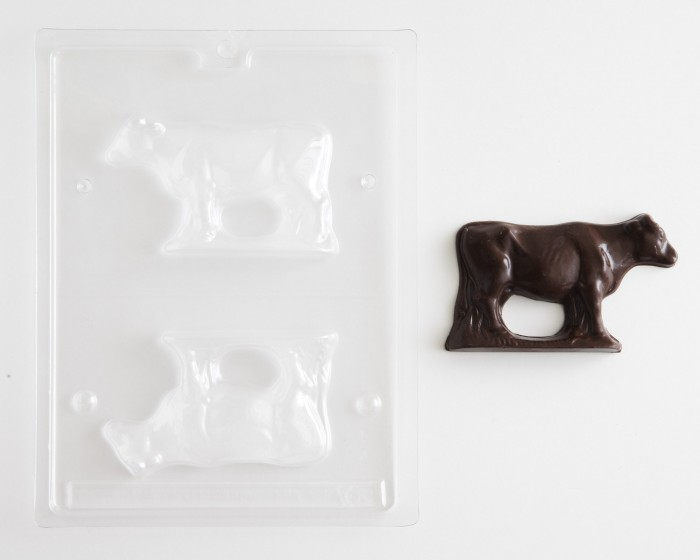 3-D Cow Chocolate Mold