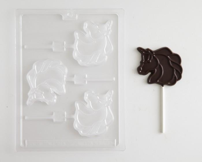 Unicorn Sucker Chocolate Candy Mold