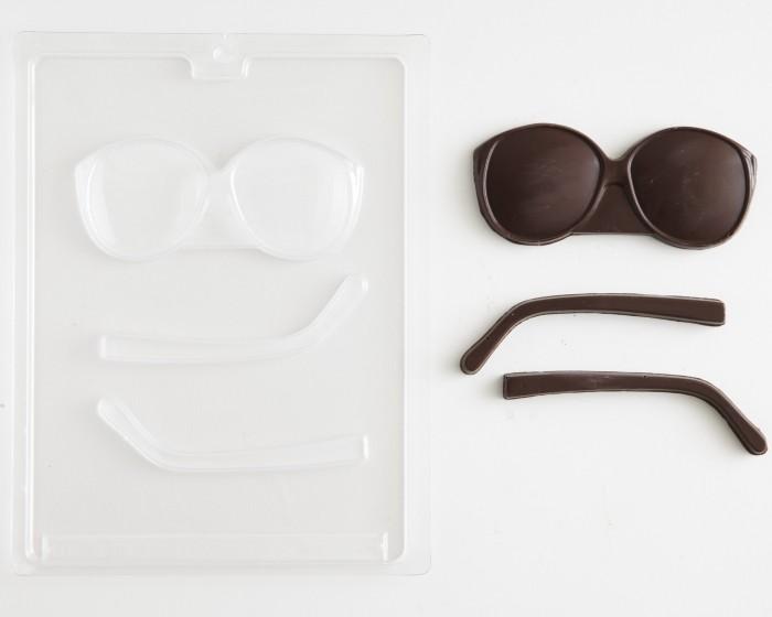 Retro 80's Eyeglass Chocolate Candy Mold
