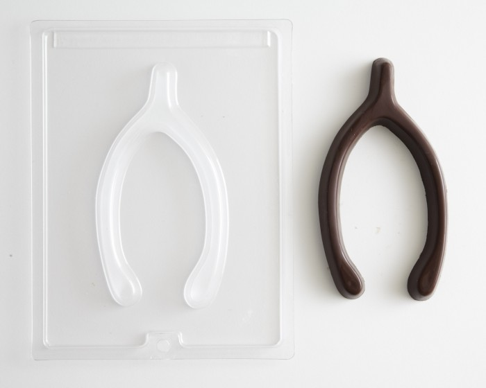 Wishbone Chocolate Candy Mold
