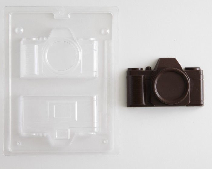 photography camera chocolate candy mold