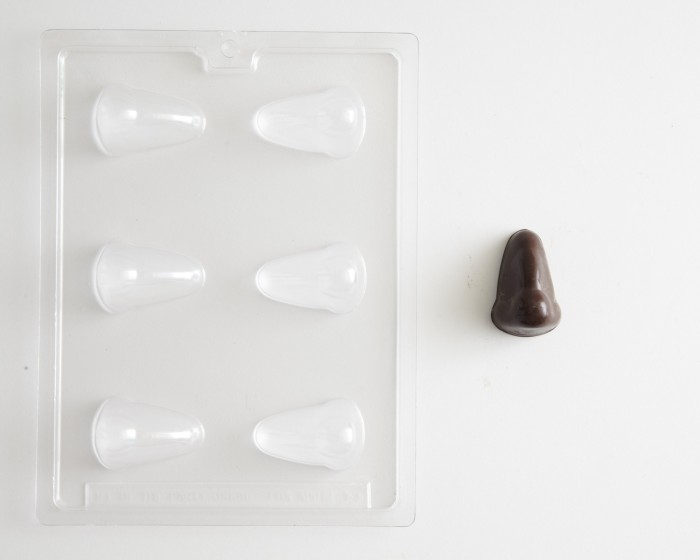 nose shaped chocolate candy molds