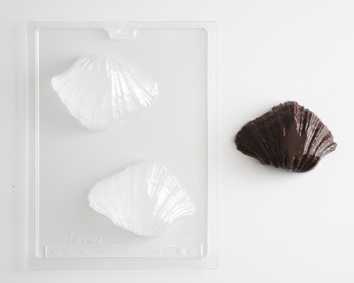 oean sea bear claw seashell chocolate candy molds