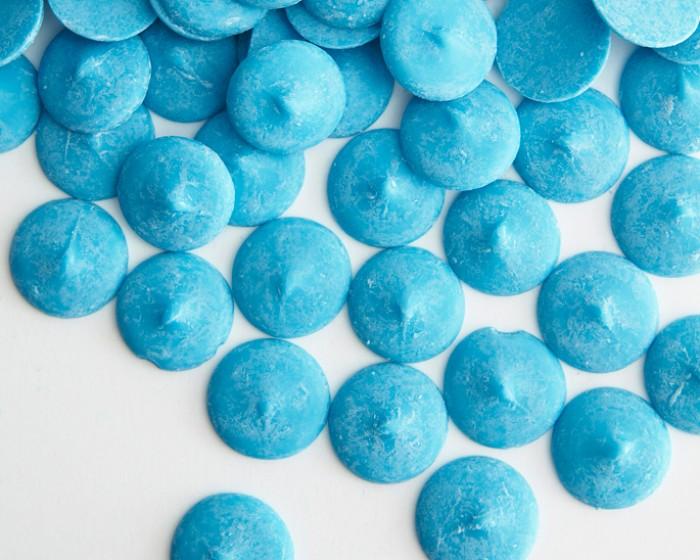 Light Blue Melting Chocolate Candy Coating Melts