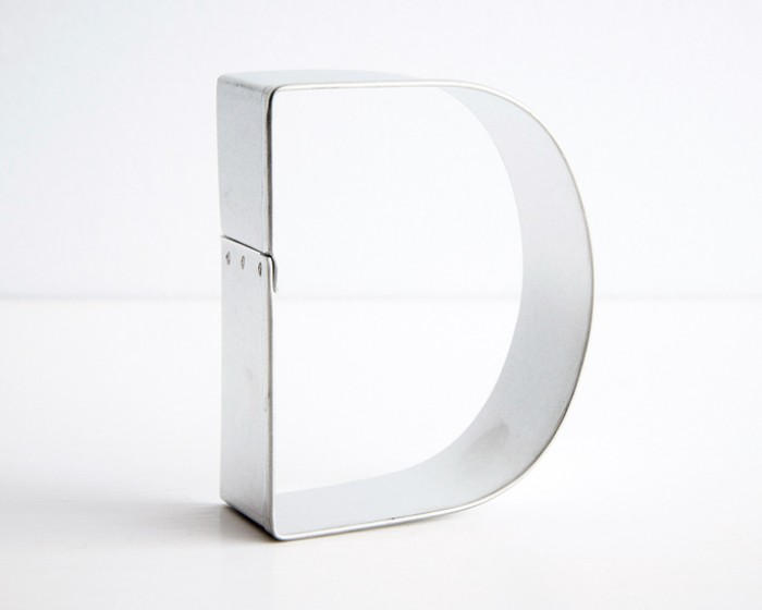 Letter D Cookie Cookie Cutter
