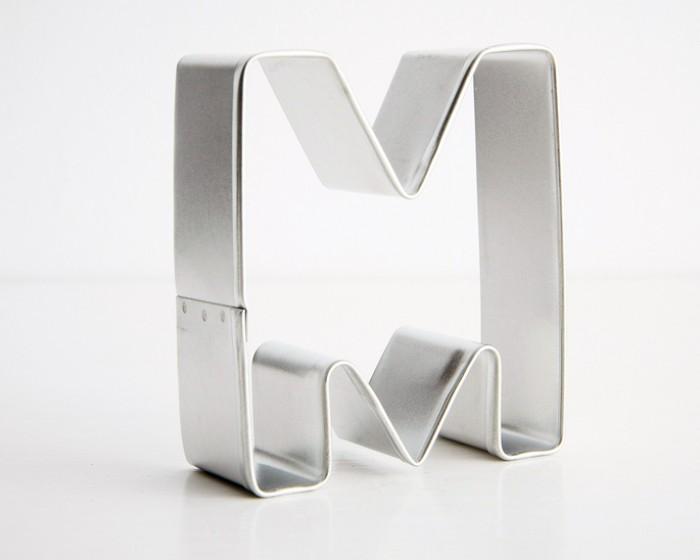 Alphabet Letter M Cookie Cutter