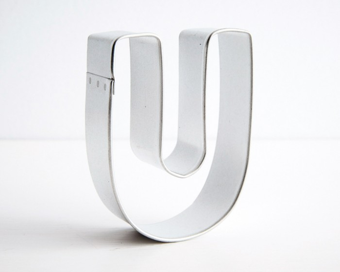 letter u shaped cookie cutters