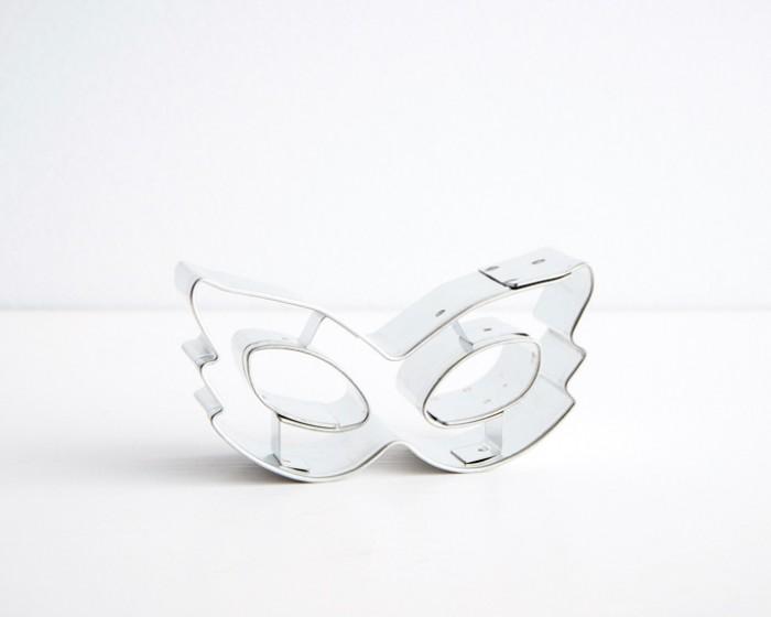 Mardi Gras Mask Venetian Cookie Cutters |