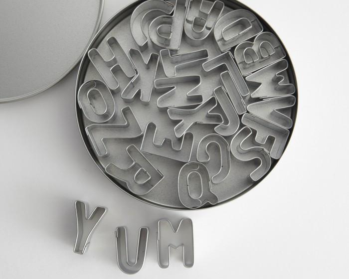 Ateco Alphabet Letter Cutter Set