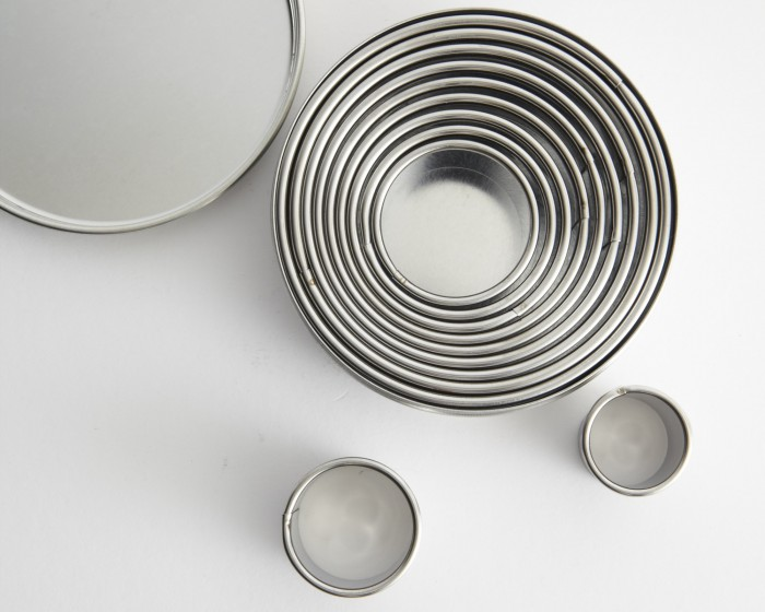 Ateco Round Circle Cookie Gumpsate Cutter Set
