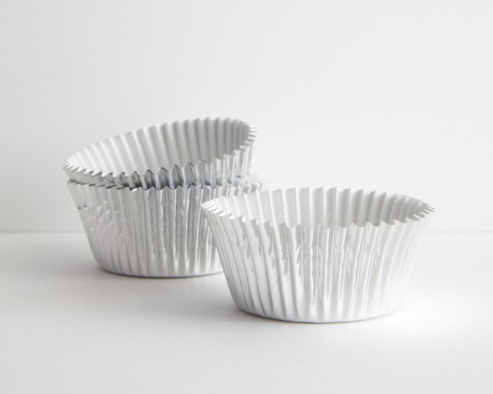 Silver Foil Baking Cup Cupcake Liner