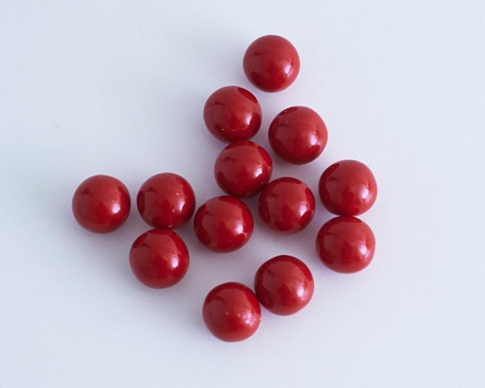 """1"""" Red Gumballs"""