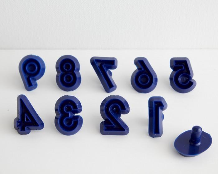 JEM Number Fondant Gum Paste Cutter Set