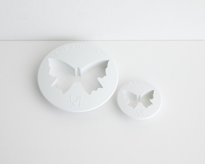 pme butterfly fondant gum paste cutter set of 2
