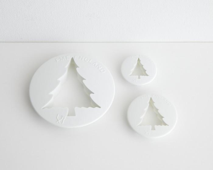 PME Christmas Tree Fondant Gum Paste Cutter Set