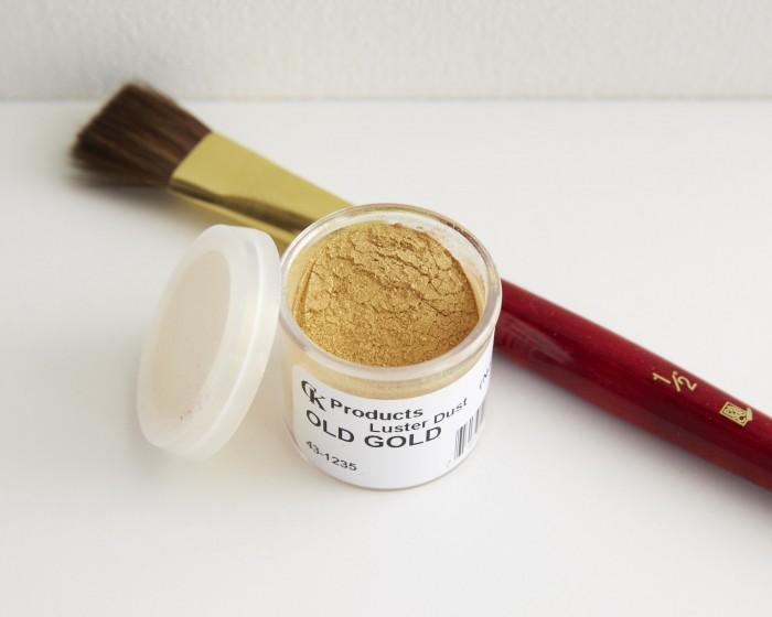 Gold Luster Dust 2g Cake Dusting Powder