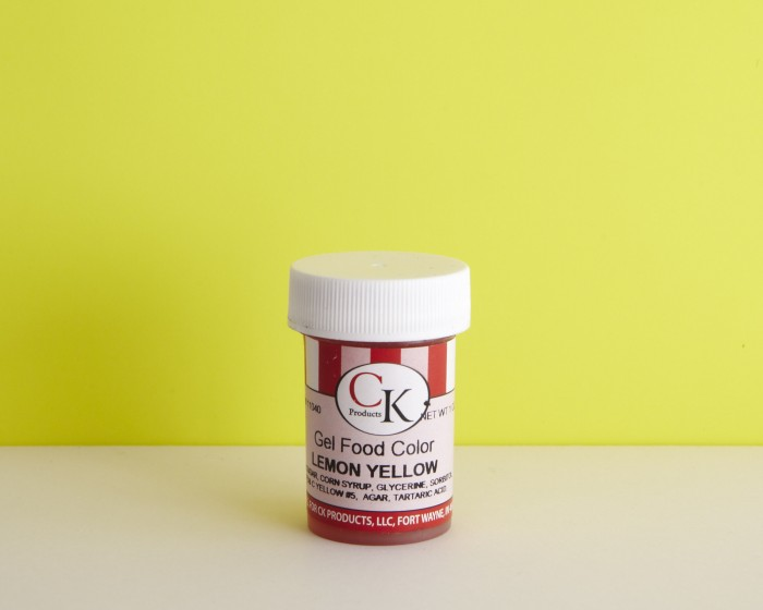 ck paste lemon yellow 1oz icing concentrated food coloring