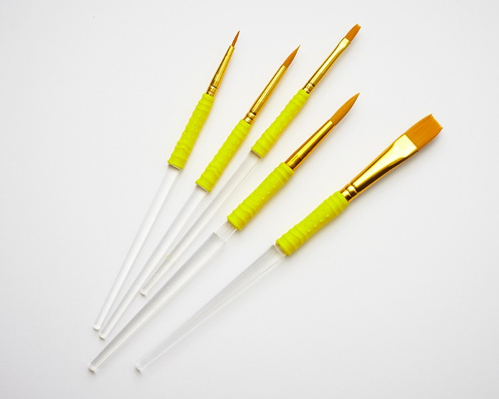 food safe  paintbrush set for cakes