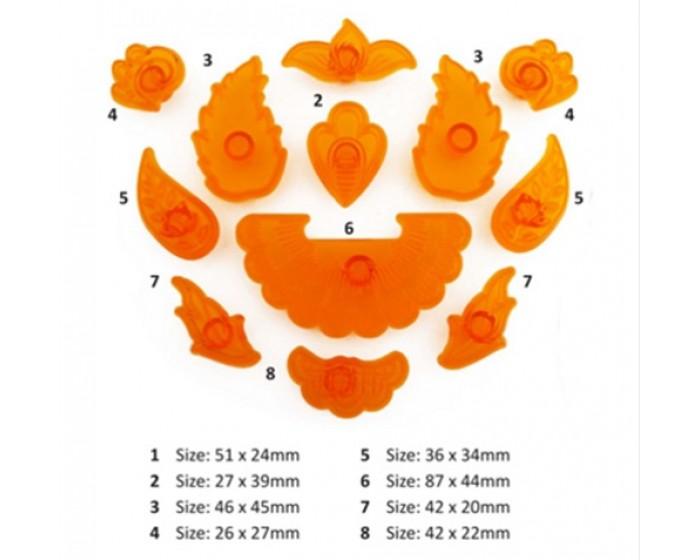 JEM Jacobean Floral Applique Cutter Set