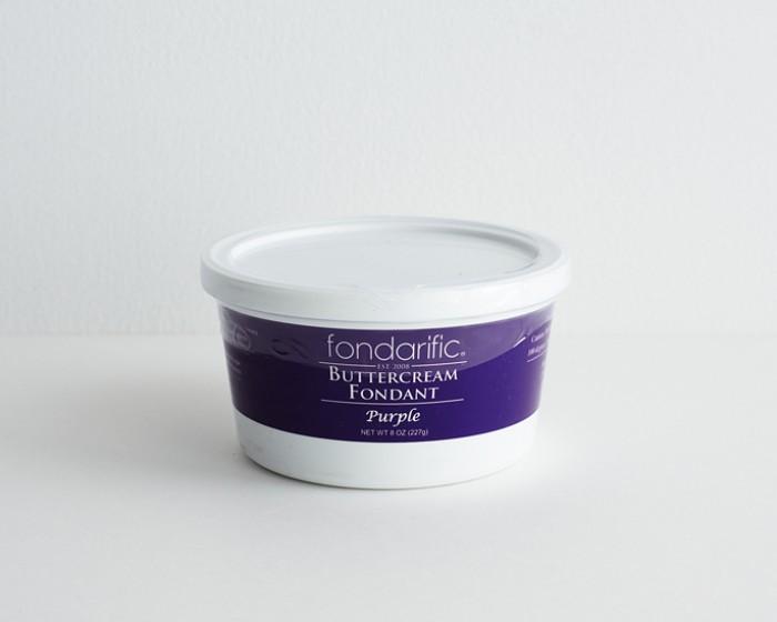 pre made purple rolled fondanti cing-8-oz