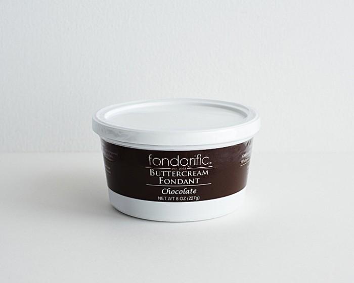 Pre Made Ready-To-Use Chocolate Fondarific Fondant  8 oz