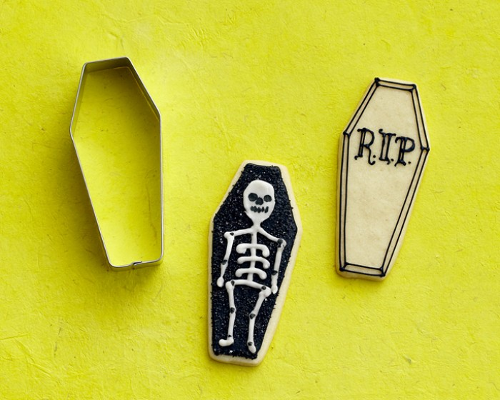 Halloween Coffin Shaped Cookie Cutter