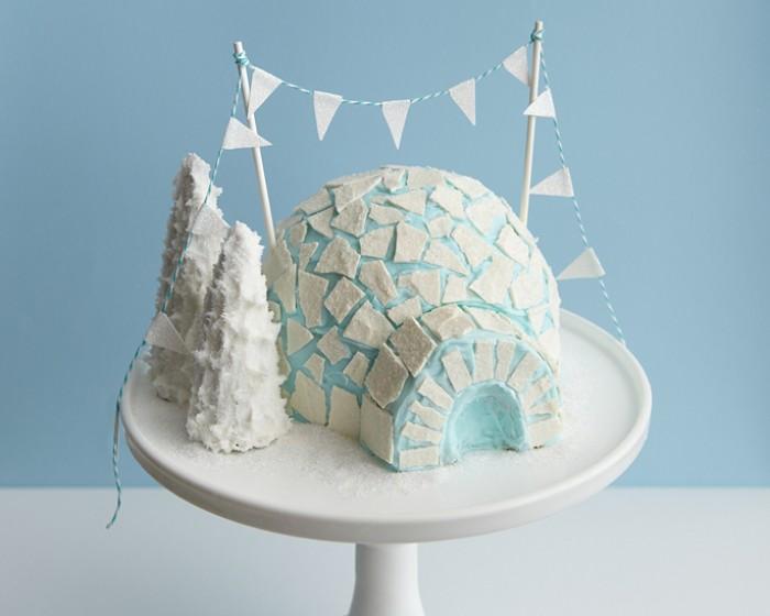 How To Make An Igloo Cake