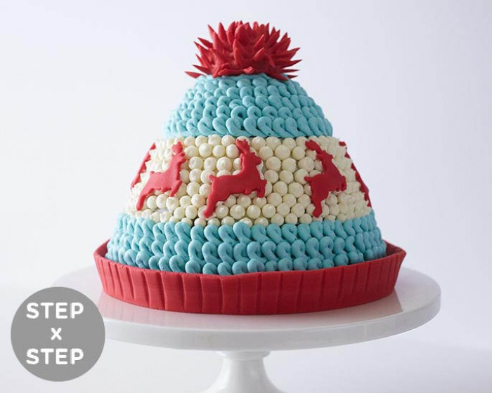 How To Make A Winter Hat Cake Step x Step 063533d05bc
