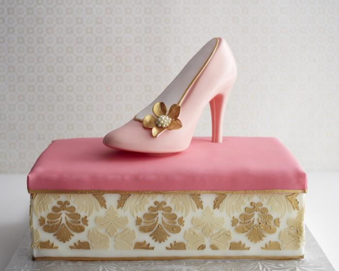 Cakegirls Shoe On A Shoebox How-To Step x Step
