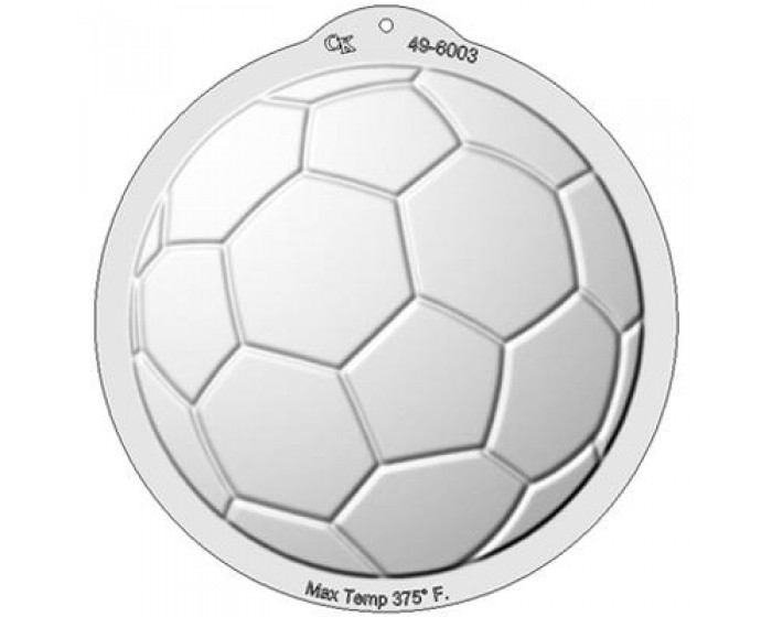 Soccer Ball Shaped Cake Plan Plastic