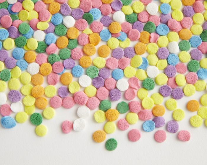Pastel Color Cupcake Confetti