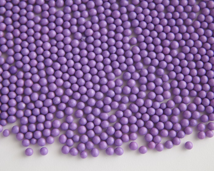 lavender lilac matte sugar candy pearls sprinkles