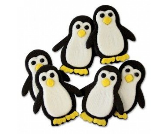 Penguin Icing Decorations - Perfect for Cupcakes