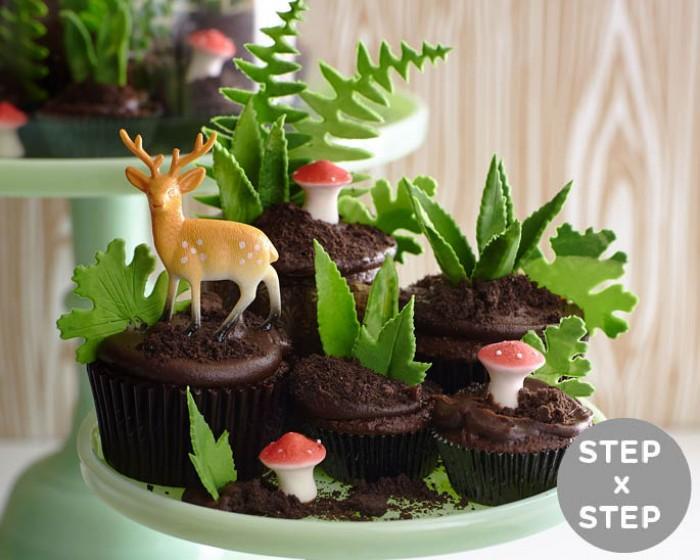How To Make A Cupcake Terrarium Cakegirls