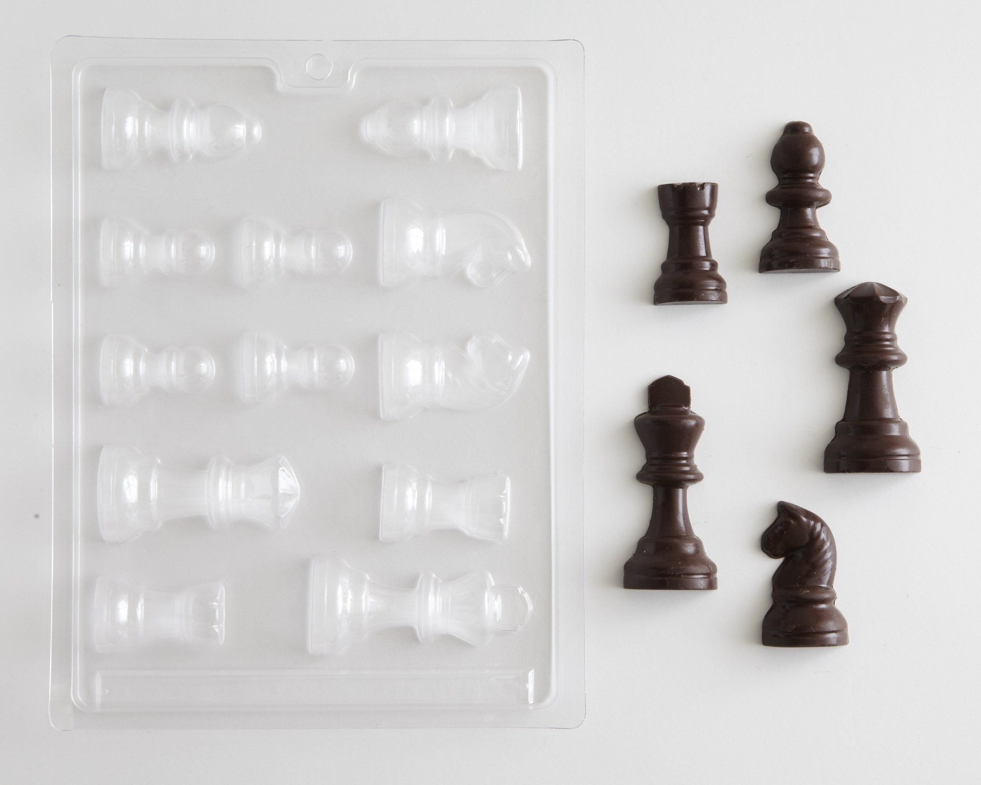 Chess Pieces Cake Molds