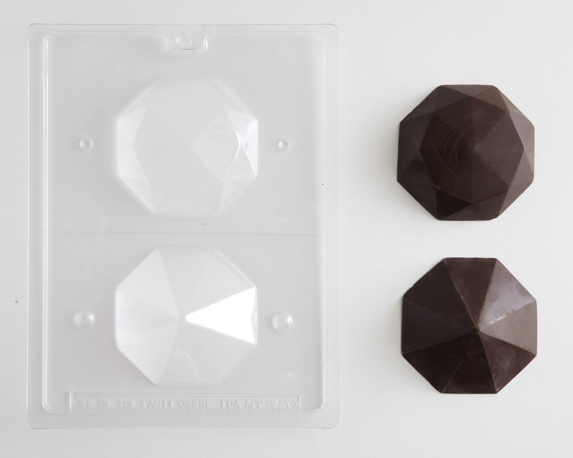 3 D Diamond Chocolate Mold Cakegirls