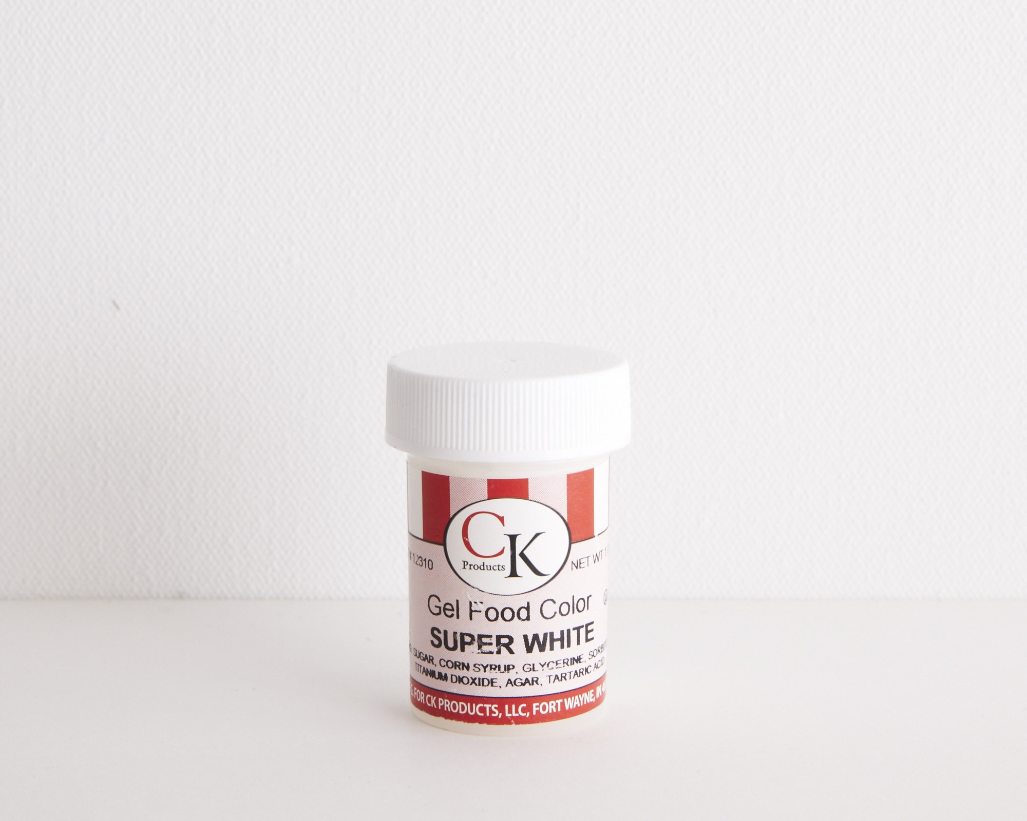 Super White Paste Color - 1 oz | Cakegirls