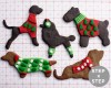 Dog Christmas Ugly Sweater Cookies How To