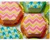 Ateco Hexagon Cookie Gum Paste Cutter Set