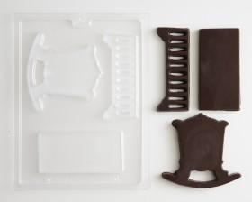 bdd15620c11 ... 3D Baby Crib Baby Shower Chocolate Candy Mold