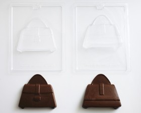 1ded6767ba6 ... 3-D Purse Handbag Chocolate Candy Mold