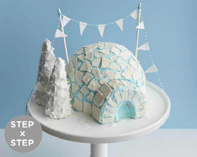 How To Make An Igloo Shaped Cake